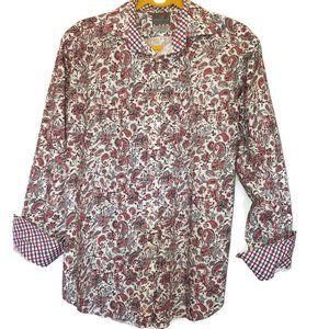 TD Thomas Dean Shirtmakers Cloth Button Contrast